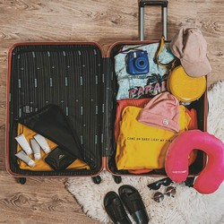 Travel pillow, pink, 56-30-042-60, Photo 1