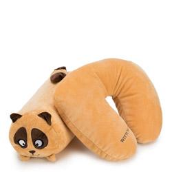 Travel pillow, light brown, 56-30-044-A, Photo 1