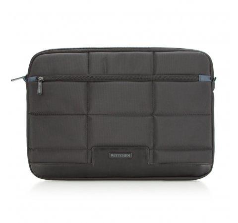 Pokrowiec na laptopa, czarny, 87-3P-114-1, Zdjęcie 1