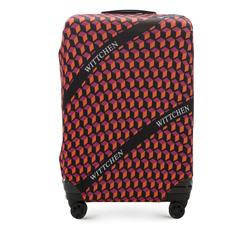 Pokrowiec na walizkę dużą, pomarańczowo - czarny, 56-30-033-55, Zdjęcie 1
