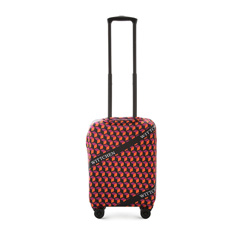 Small luggage cover, orange-black, 56-30-031-55, Photo 1
