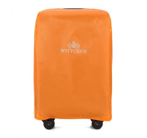 Pokrowiec na walizkę małą, pomarańczowy, 56-3-041-6, Zdjęcie 1