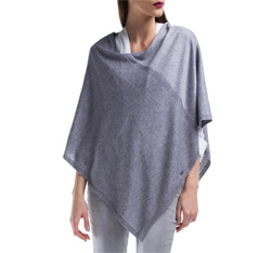 Poncho, grey, 84-7D-X07-8, Photo 1