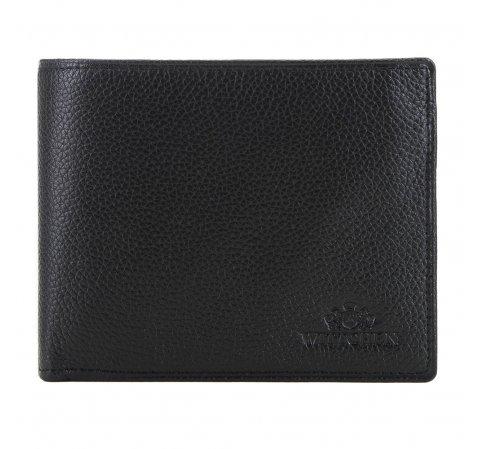 Skórzany portfel męski, czarny, 02-1-040-5L, Zdjęcie 1