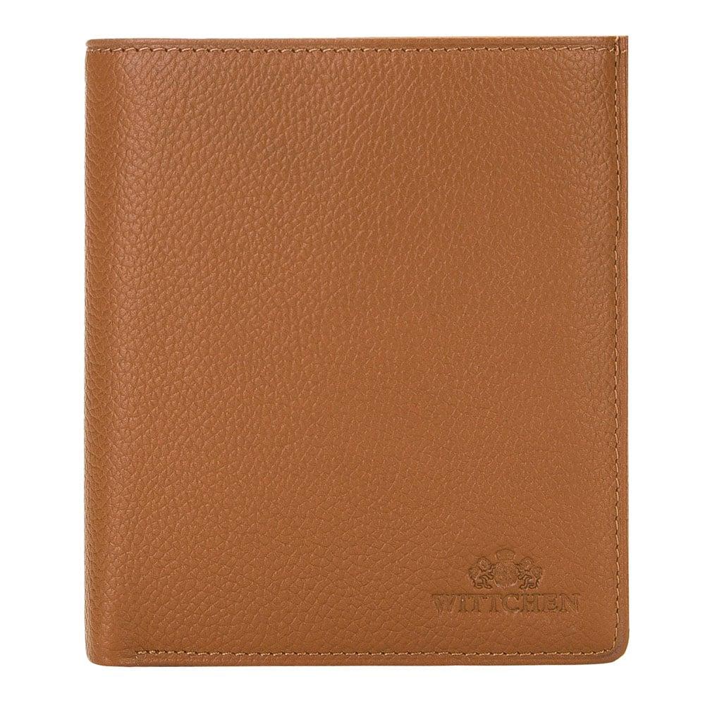 średni męski portfel skórzany
