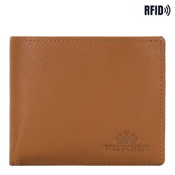 Medium-sized wallet, light brown, 02-1-236-5L, Photo 1