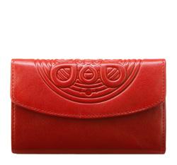 Portfel, czerwony, 04-1-045-3, Zdjęcie 1