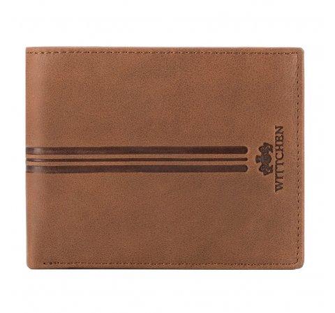 Portfel, brązowy, 05-1-262-55, Zdjęcie 1