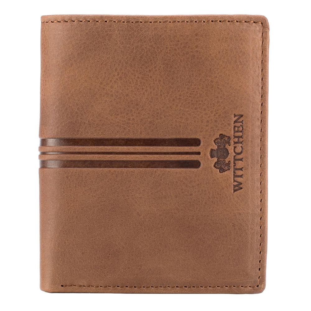 Moderná hnedá peňaženka z kolekcie Franco.