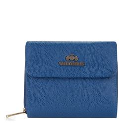 Portfel, niebieski, 13-1-051-RN, Zdjęcie 1