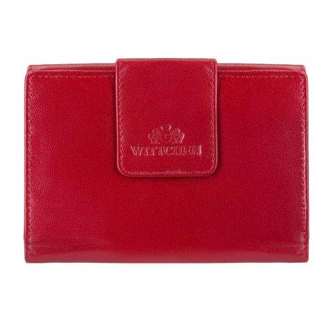 Portfel, czerwony, 14-1-048-3, Zdjęcie 1