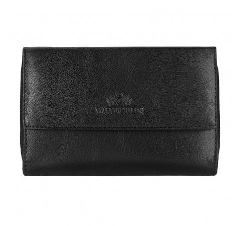 portfel, czarny, 14-1-049-L1, Zdjęcie 1