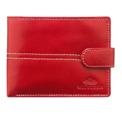 Portfel, czerwony, 14-1-115-3, Zdjęcie 1