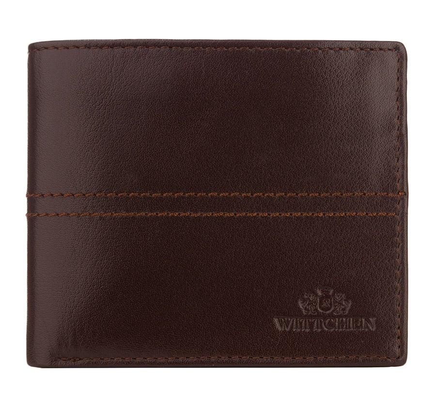 Hnedá pánska peňaženka pre pánov.