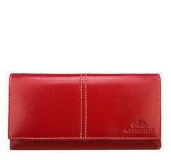 Portfel, czerwony, 14-1-122-3, Zdjęcie 1