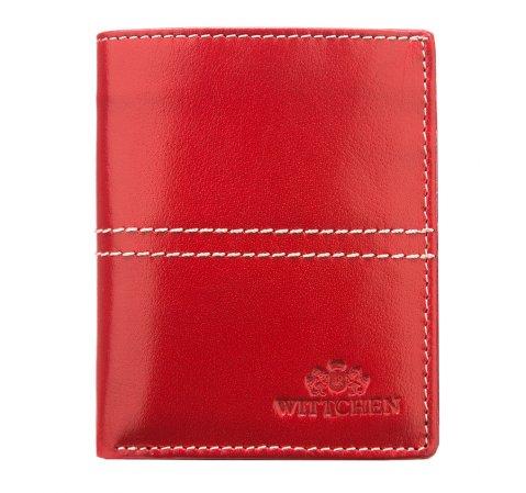 Portfel, czerwony, 14-1-124-3, Zdjęcie 1