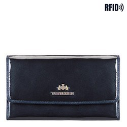 Wallet, navy blue, 14-1L-002-N, Photo 1