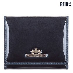 Wallet, navy blue, 14-1L-066-N, Photo 1