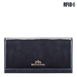Wallet, navy blue, 14-1L-087-N, Photo 1