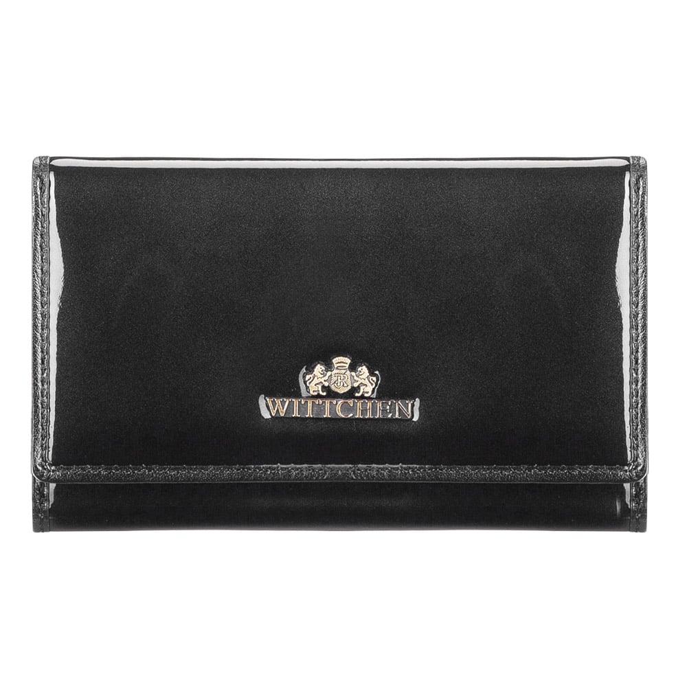 Kvalitná čierna dámska peňaženka.