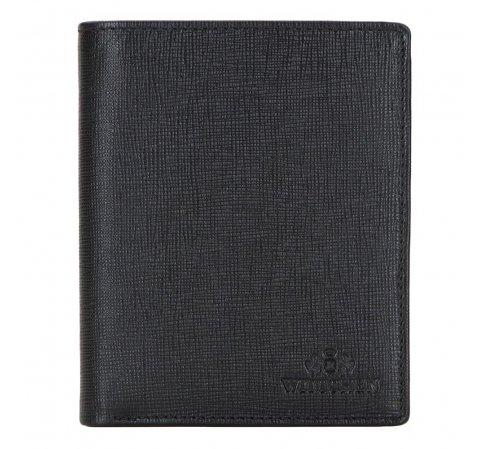 Portfel, czarny, 14-1S-042-1, Zdjęcie 1