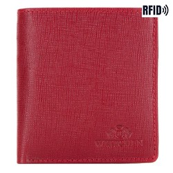 Wallet, red, 14-1S-046-3, Photo 1