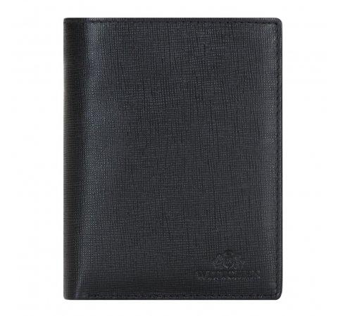 Portfel, czarny, 14-1S-090-1, Zdjęcie 1