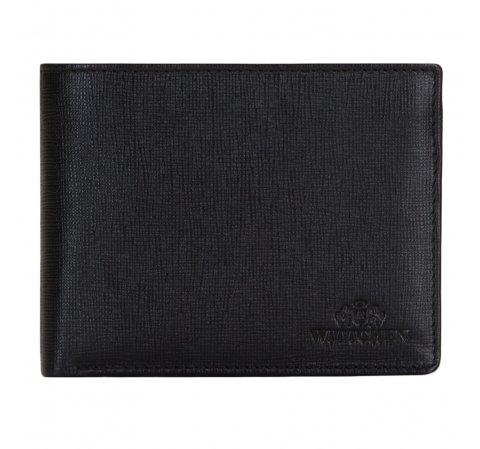 4f3995cfbf948a Czarny portfel męski ze skóry licowej | WITTCHEN | 14-1S-091