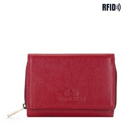 Portfel, czerwony, 14-1S-121-3, Zdjęcie 1