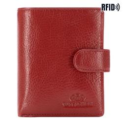 Portfel, czerwony, 21-1-024-L3, Zdjęcie 1