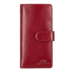Portfel, czerwony, 21-1-028-30, Zdjęcie 1