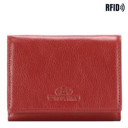 Portfel, czerwony, 21-1-032-L3, Zdjęcie 1