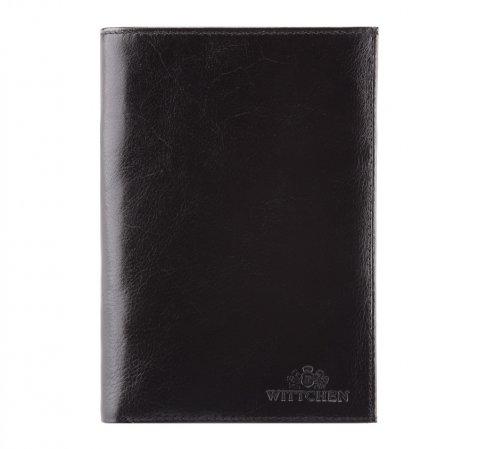 Portfel, czarny, 21-1-033-10, Zdjęcie 1