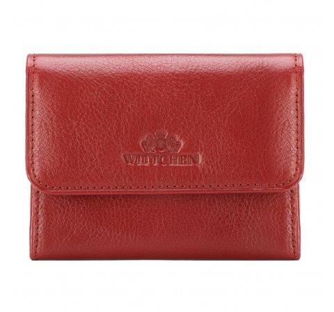 Portfel, czerwony, 21-1-034-L3, Zdjęcie 1