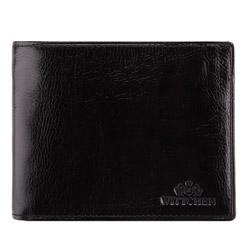 Portfel, czarny, 21-1-040-10, Zdjęcie 1