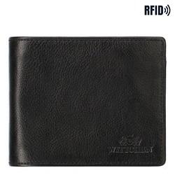 Męski portfel skórzany z dwoma suwakami, Brązowy, 21-1-040-12L, Zdjęcie 1