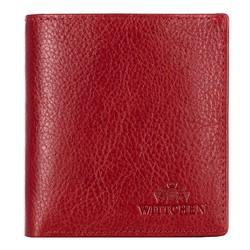 Portfel, czerwony, 21-1-065-30, Zdjęcie 1