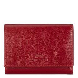 Portfel, czerwony, 21-1-071-30, Zdjęcie 1