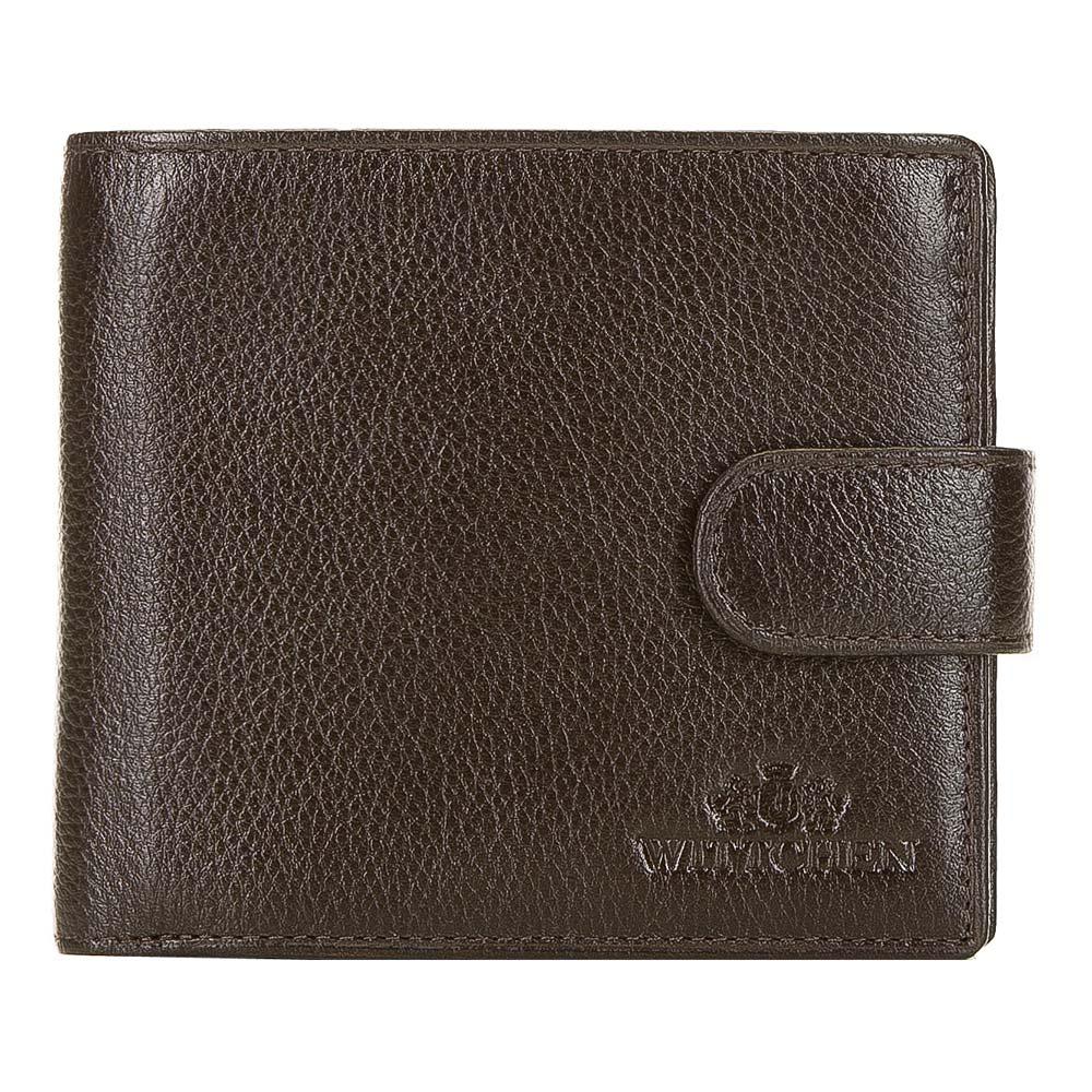 Hnedá peňaženka z pravej kože.