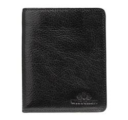 Męski portfel skórzany klasyczny, czarny, 21-1-143-1, Zdjęcie 1