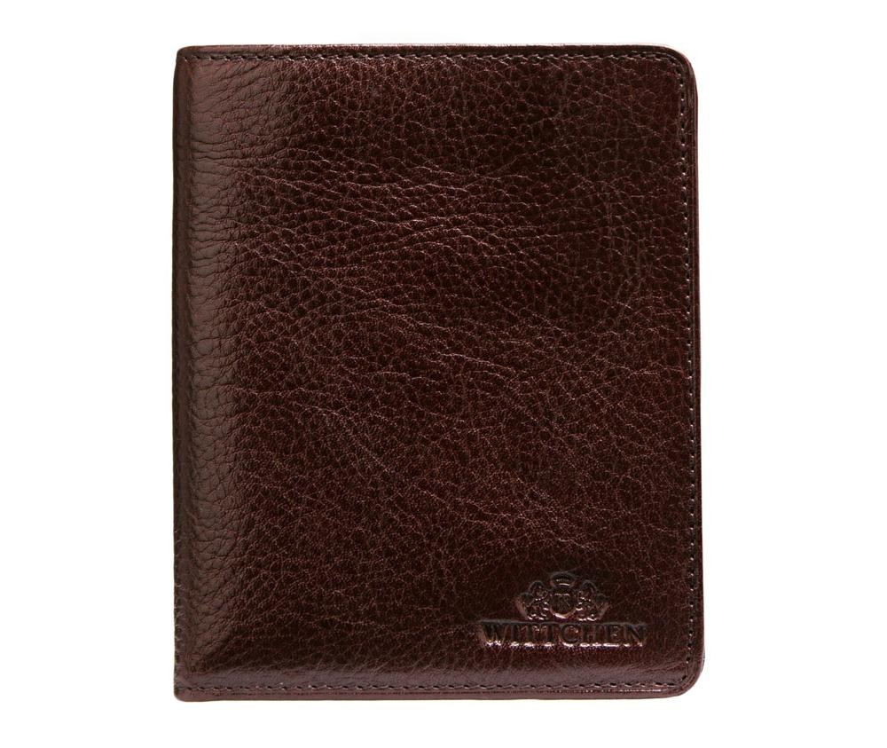 Кошелек кожаный Wittchen 21-1-143-44, темно-коричневыйКошелек кожаный<br><br>секс: мужчина<br>Цвет: коричневый<br>материал:: Натуральная кожа<br>высота (см):: 12<br>ширина (см):: 9,5