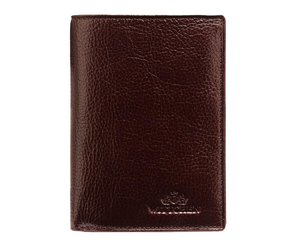 Кошелек кожаный Wittchen 21-1-178-44, темно-коричневыйКошелек кожаный<br><br>секс: мужчина<br>Цвет: коричневый<br>материал:: Натуральная кожа<br>высота (см):: 12,5<br>ширина (см):: 9