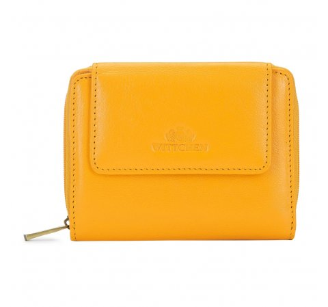 wallet, yellow, 21-1-211-YL, Photo 1