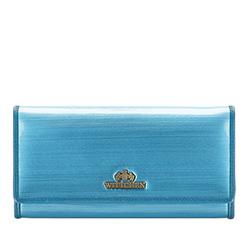 Portfel, niebieski, 25-1-052-NB, Zdjęcie 1