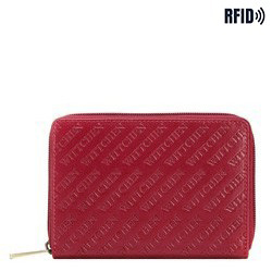 Women's large leather wallet, red, 26-1-003-3, Photo 1
