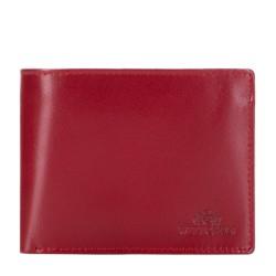 Damski portfel ze skóry niezamykany, czerwony, 26-1-040-3, Zdjęcie 1