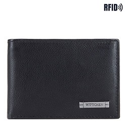 Wallet, black-grey, 26-1-425-18, Photo 1
