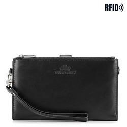 Women's wristlet wallet, black, 26-1-444-1, Photo 1