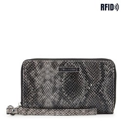 Wallet, black-grey, 26-1W-428-8P, Photo 1