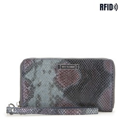 Wallet, navy blue-grey, 26-1W-428-NP, Photo 1